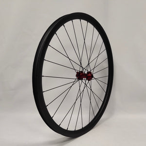 29ER carbon fiber bike wheels MTB wheels 33mm width thru axle Asymmetric rim