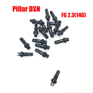 Pillar DSN 14G double square Alloy MTB road bike alloy nipples 100pcs