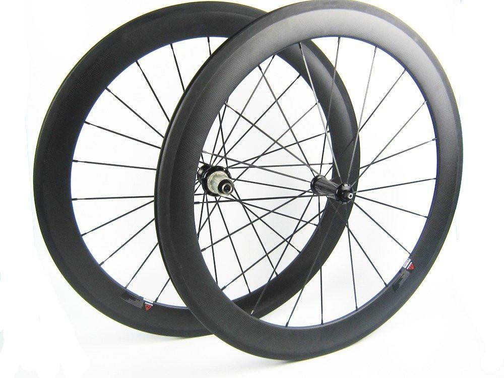25mm Width 60mm Depth Carbon Wheelset with Road bicycle Rims - hulkwheels