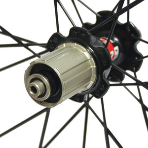 25mm wide ruote carbon 88mm 700C carbon wheels - hulkwheels