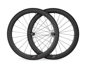 23mm width 60mm carbon clincher/tubular road bicycle wheels - hulkwheels