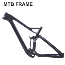 Load image into Gallery viewer, full twinloc suspension XC carbon mountain bike frame disc 29er mtb carbon 29er/27.5er plus boost suspension frame