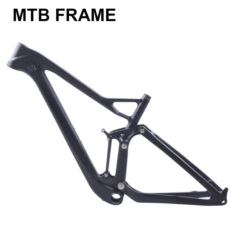 full twinloc suspension XC carbon mountain bike frame disc 29er mtb carbon 29er/27.5er plus boost suspension frame