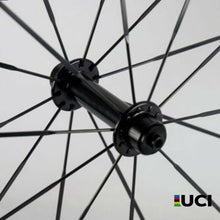 Load image into Gallery viewer, 700c Carbon Road Bike Wheelset 30mm 38mm 47mm 50mm 60mm 88mm Tubeless Clincher
