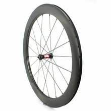 Load image into Gallery viewer, Dimple Carbon Wheel DT240S Hub 700c Road Bike Wheelset 45/50/58/80mm Clincher
