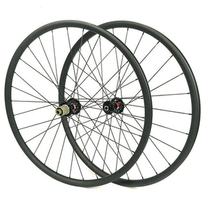 Hand build 29ER carbon mountain bike wheel for MTB XC AM riding 30mm outer width - hulkwheels