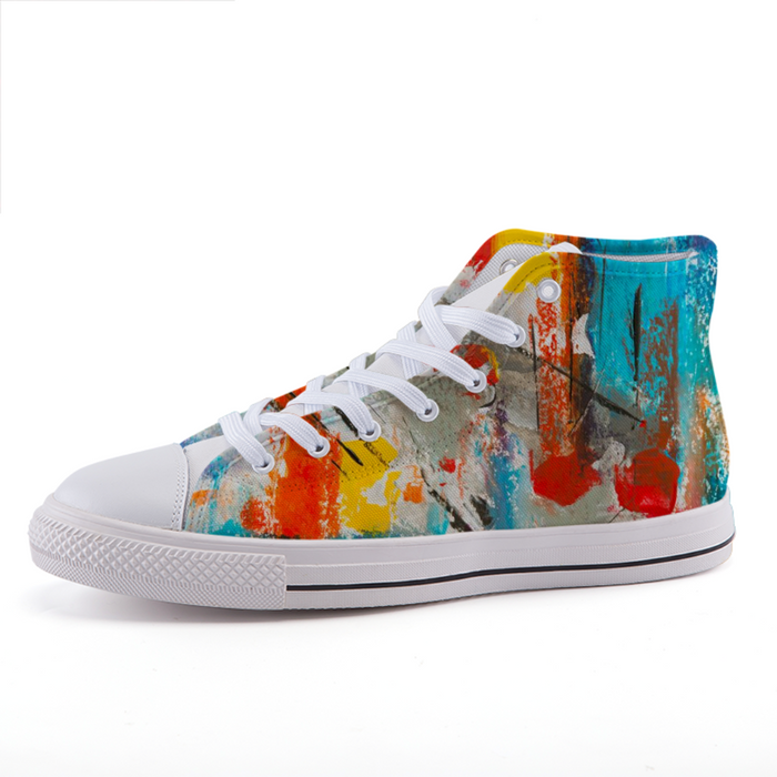 High-top fashion canvas shoes #2