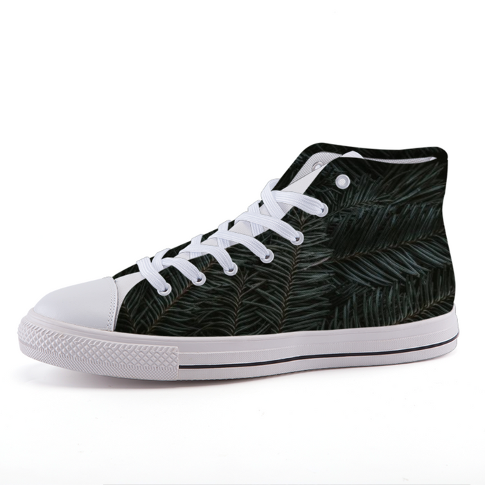 High-top fashion canvas shoes #5
