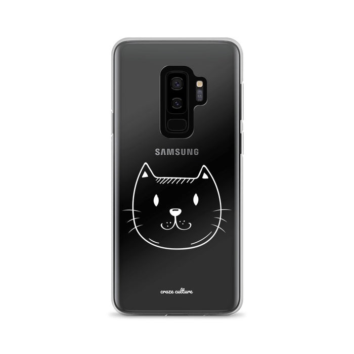 Samsung Case with Cat Design
