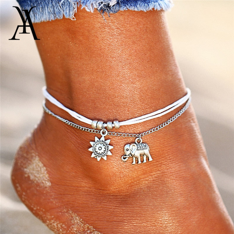 Vintage Multiple Layer Anklet/Bracelet