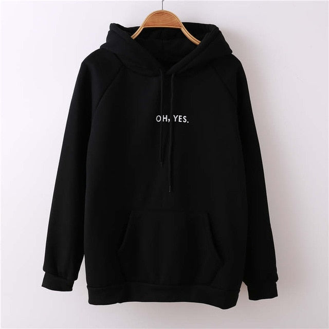 """OH YES."" Women's Pullovers/Sweatshirts"