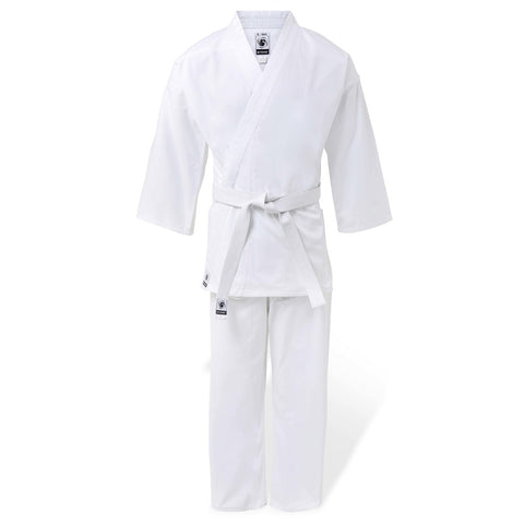 Bytomic 100% Cotton Student White Karate Uniform Adult