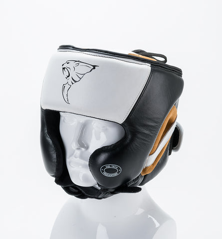 Headguard Leather Gel