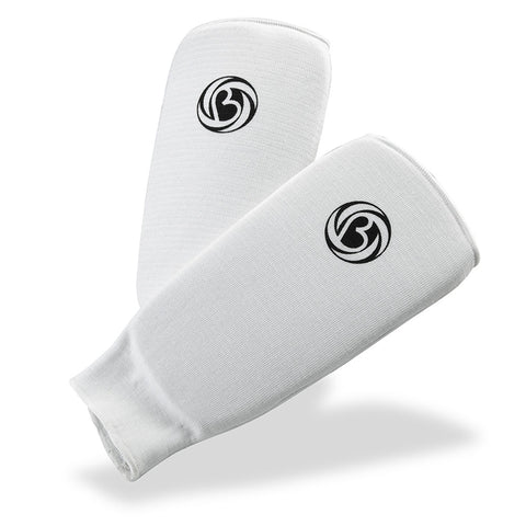 Bytomic Padded Shin Support White