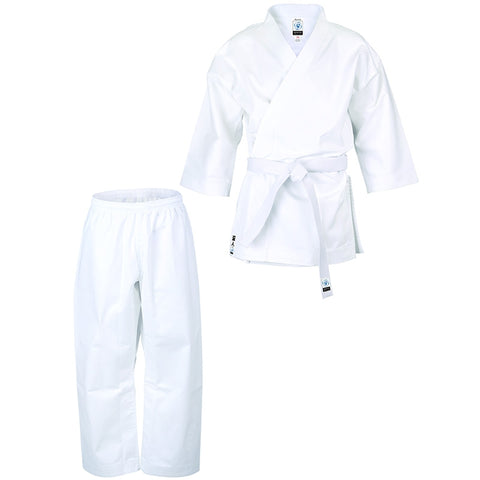 Bytomic Ronin 8.5oz Middleweight Student Uniform White Adult