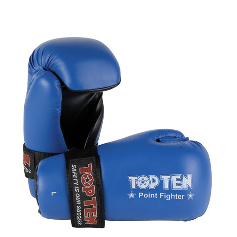 Top Ten Pointfighter Gloves Blue