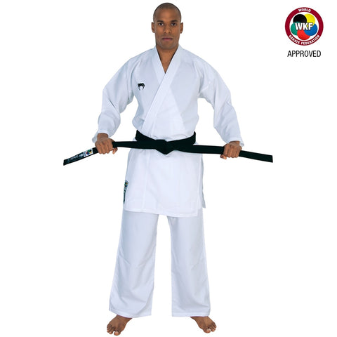 Venum WKF Approved Elite Kumite Karate Gi White Adult