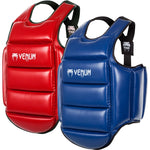 Venum WKF Approved Karate Reversible Body Protector Blue/Red