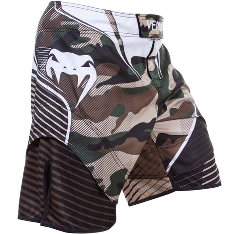 Venum Camo Hero Fight Shorts Green/Brown