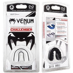 Venum Challenger Adult Mouth Guard Black/White