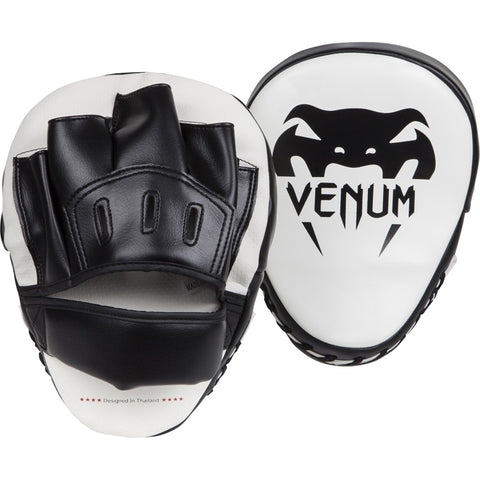 Venum Light Focus Mitts Black/White