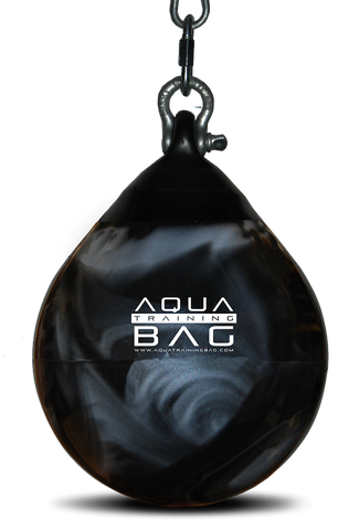 "Aqua Headhunter 12"" Training Bag Black/Silver"