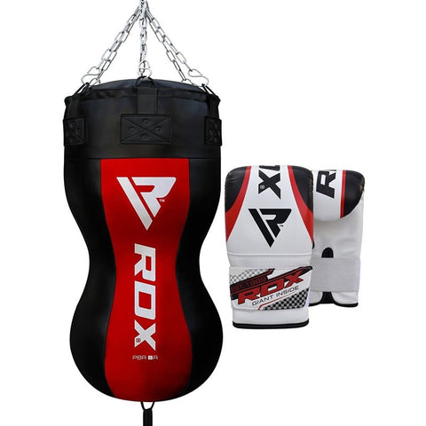 RDX BR Filled Body Punch Bag with Mitts