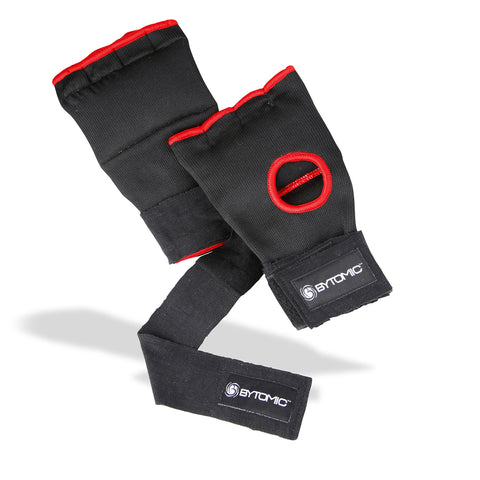 Bytomic Quick Hand Wraps Black/Red