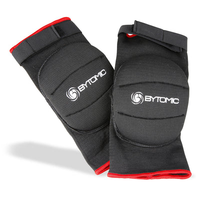 Bytomic Padded Knee Guard Black/Red