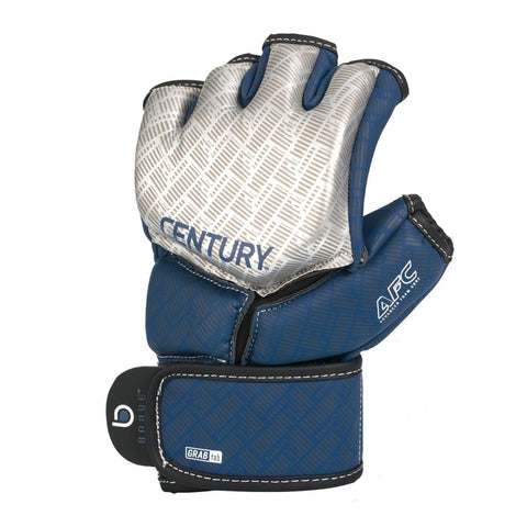 Century Brave MMA Competition Gloves Silver/Navy