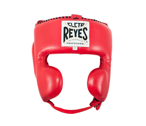 Cleto Reyes Headgear With Cheek Protectors Red