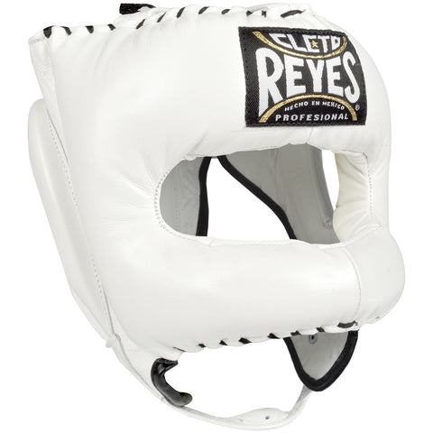 Cleto Reyes Headgear With Nylon Rounded Bar White