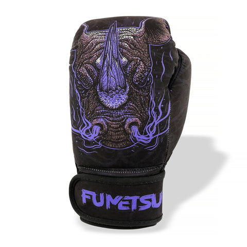 Fumetsu Rampage Kids Washable Boxing Gloves Black/Purple