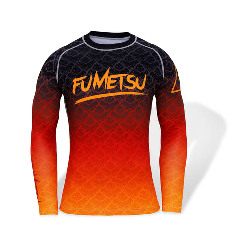 Fumetsu Elements Fire Long Sleeve Rash Guard