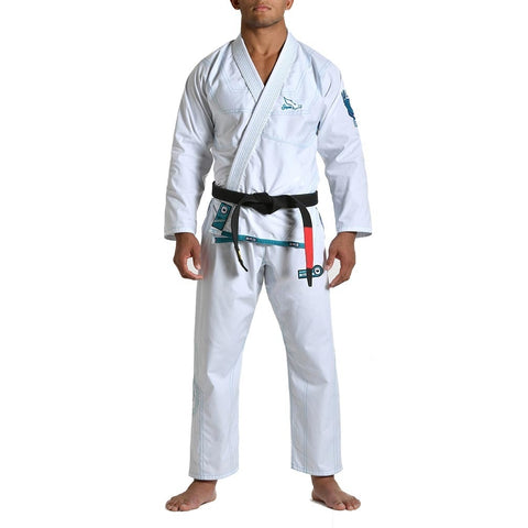 Gr1ps Athletics Superlight BJJ Gi White
