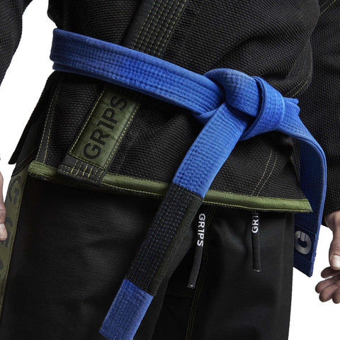 Gr1ps Classic BJJ Gi Black/Green