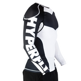 Hyperfly ProComp Supreme Long Sleeve Rash Guard White