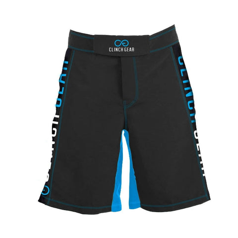 Clinch Gear Crossover 3 Flash Shorts Pewter/Cyan