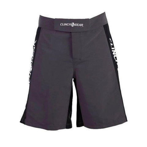Clinch Gear Pro Series Flash Shorts Pewter/Black/White