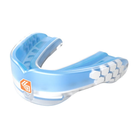 Shock Doctor Gel Max Power Carbon Mouth Guard Blue