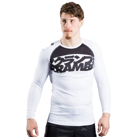 Scramble Ranked V3 Rashguard White
