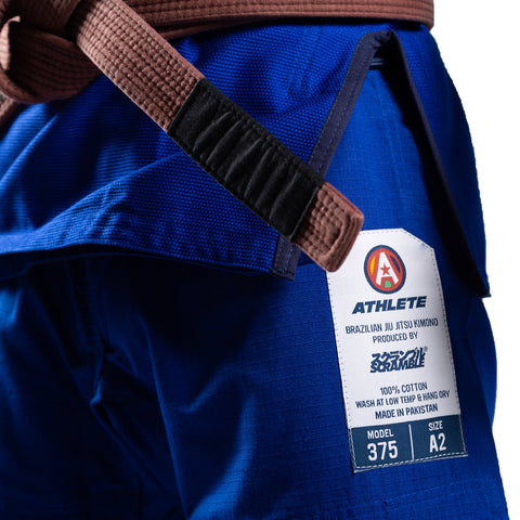 Scramble Athlete V4 375 Ladies BJJ Gi Blue