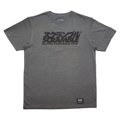 Scramble Counterculture T-Shirt Grey