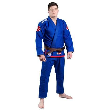 Scramble The Athlete 3 BJJ Gi Blue