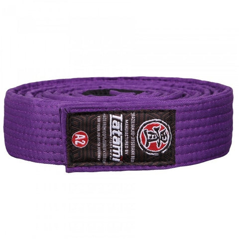 Tatami Fightwear Ranked BJJ Gi Belt Purple