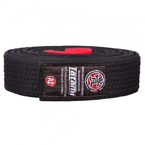 Tatami Fightwear Ranked BJJ Gi Belt Black