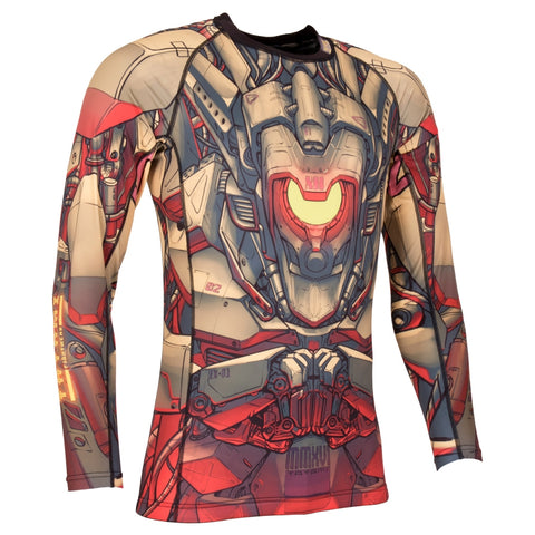Tatami Fightwear Kids Mech Warrior Rash Guard