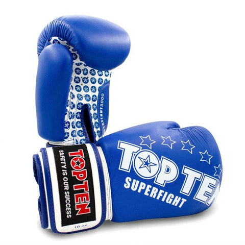 Top Ten Superfight Boxing Gloves Blue