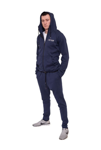 Top Ten Hooded Tracksuit Navy