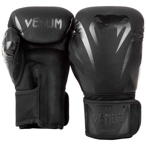 Venum Impact Boxing Gloves Black/Black